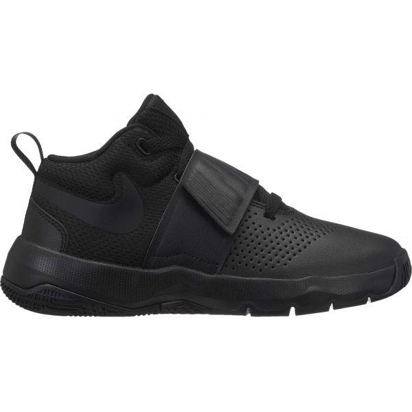 Nike TEAM HUSTLE D8 GS černá 6Y - Dětská basketbalová obuv