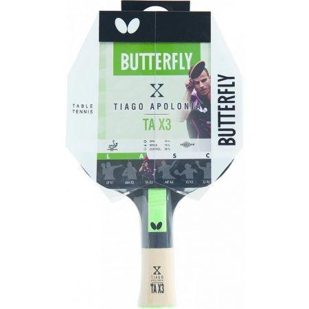 Paletă tenis de masă - Butterfly TIAGO APOLONIA TAX3
