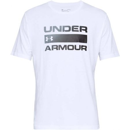 Pánske tričko - Under Armour TEAM ISSUE WORDMARK SS - 1