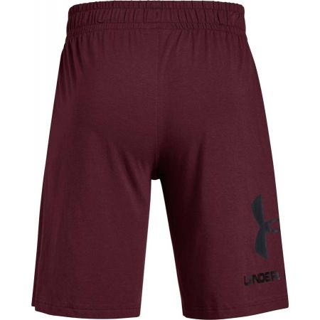 Pánske šortky - Under Armour SPORTSTYLE COTTON GRAPHIC SHORT - 2