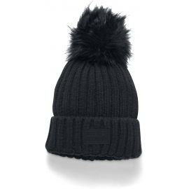 Under Armour SNOWCREST POM BEANIE - Women's knitted hat