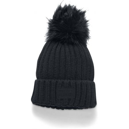 Women's knitted hat - Under Armour SNOWCREST POM BEANIE