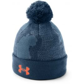 Under Armour BOY'S POM BEANIE UPD - Детска зимна шапка