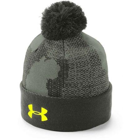 Detská zimná čiapka - Under Armour BOY'S POM BEANIE UPD - 1
