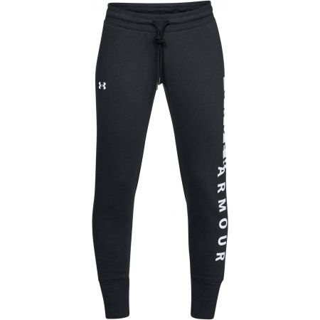Dámské tepláky - Under Armour COTTON FLEECE WM PANT - 1