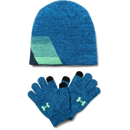 Dětská zimní čepice a rukavice - Under Armour BOY'S BEANIE/GLOVE COMBO - 2