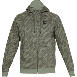 Under Armour RIVAL FLEECE CAMO FZ HOODIE - Men's sweatshirt