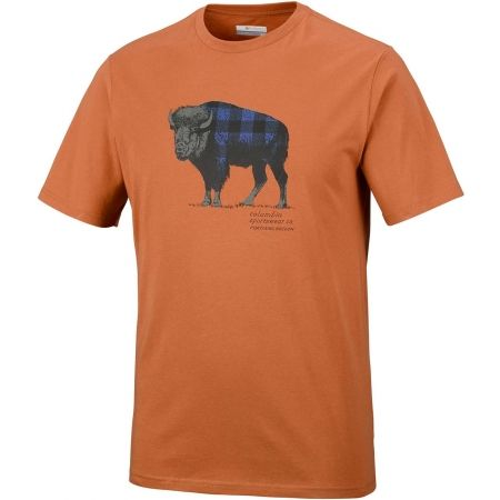 Pánske tričko - Columbia CSC CHECK THE BUFFALO II SHORT SLEEVE - 1