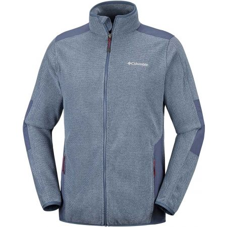 Мъжки  суитшърт - Columbia TOUGH HIKER FULL ZIP FLEECE - 1