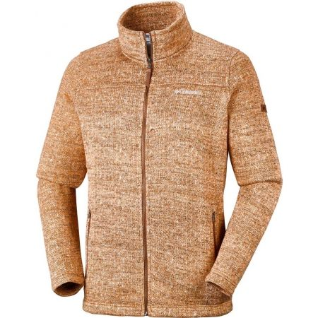 Geacă fleece de bărbați - Columbia BOUBIOZ FLEECE - 1