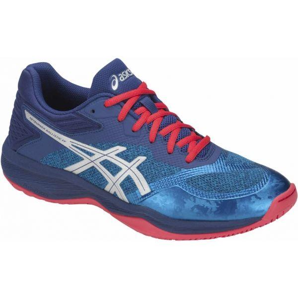 Asics NETBURNER BALLISTIC FF modrá 12 - Pánská volejbalová obuv