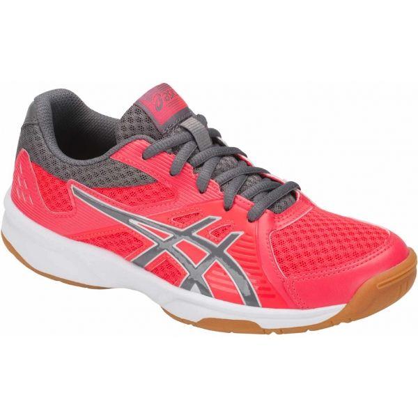 Asics UPCOURT 3 GS červená 5 - Dětská volejbalová obuv