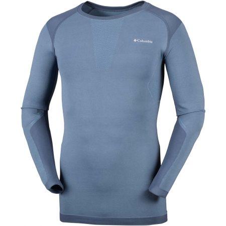Columbia SEAMLESS LS CREW - Pánske tričko