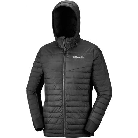 Pánska bunda - Columbia POWDER PILLOW HYBRID JACKET - 1
