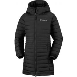 Columbia POWDER LITE GIRLS MID JACKET - Dívčí kabát