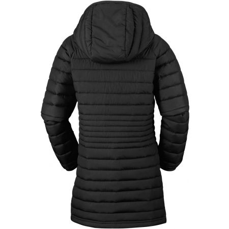 Dievčenský kabát - Columbia POWDER LITE GIRLS MID JACKET - 4