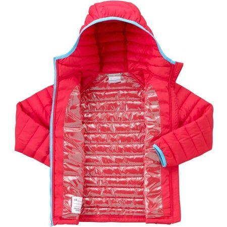 Dívčí nepromokavá bunda - Columbia POWDER LITE GIRLS HOODED JACKET - 3