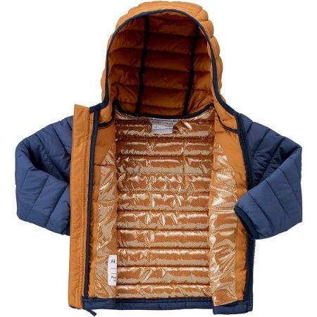 Geacă iarnă băieți - Columbia POWDER LITE BOYS HOODED JACKET - 4
