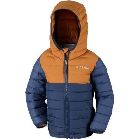 Geacă iarnă băieți - Columbia POWDER LITE BOYS HOODED JACKET - 3