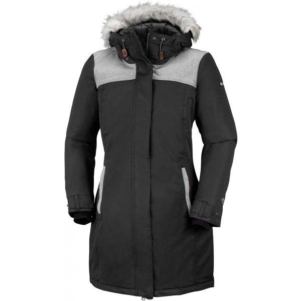 Columbia LINDORES JACKET černá S - Dámský zimní kabát