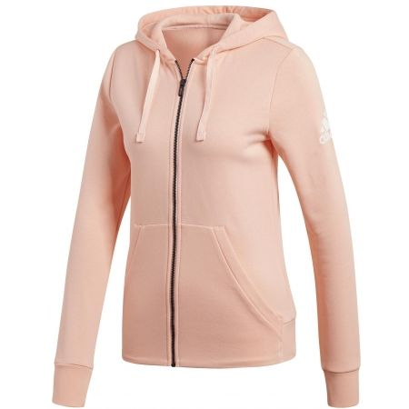 adidas Damen Hoodie Essentials Solid Full Zip: