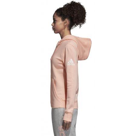 Bluza damska - adidas ESSENTIALS SOLID FULLZIP HOODIE - 3