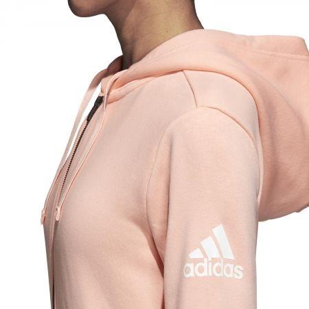 Bluza damska - adidas ESSENTIALS SOLID FULLZIP HOODIE - 5