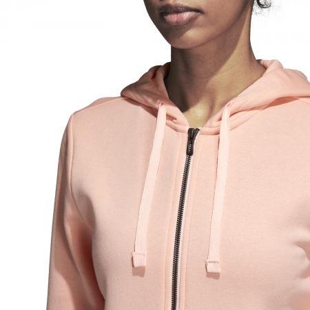 Bluza damska - adidas ESSENTIALS SOLID FULLZIP HOODIE - 7