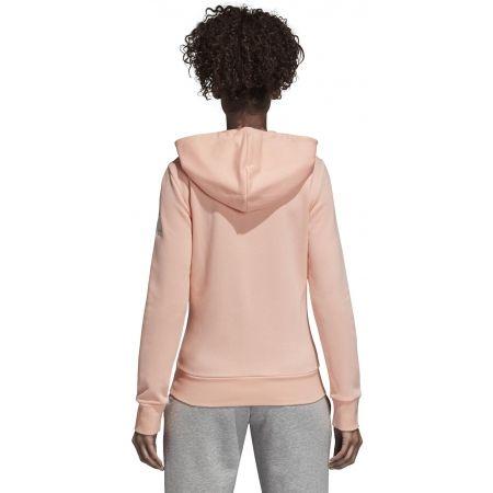 Bluza damska - adidas ESSENTIALS SOLID FULLZIP HOODIE - 4