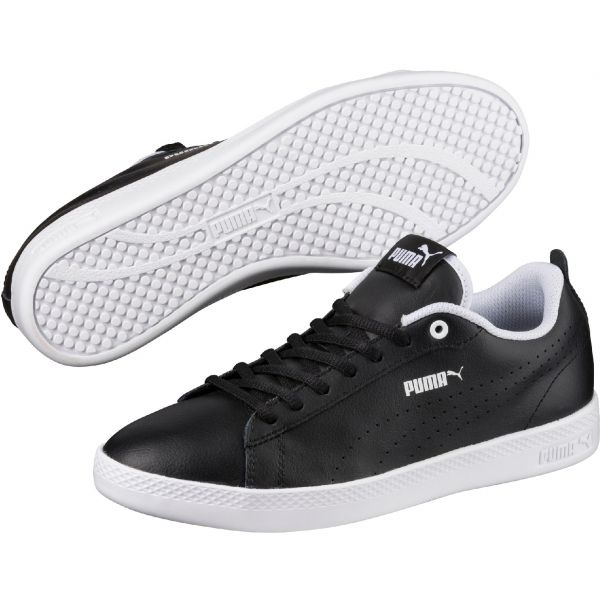 Puma SMASH WNS V2 L PERF fekete 6.5 - Női szabadidőcipő