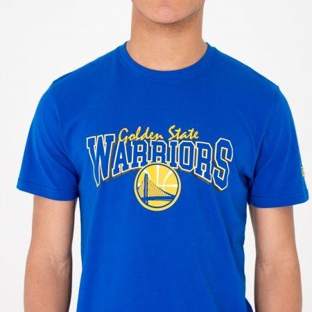Pánské triko - New Era NE NBA GOLDEN WARRIOR - 2