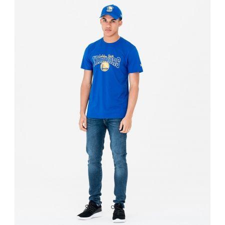 Tricou de bărbați - New Era NE NBA GOLDEN WARRIOR - 4