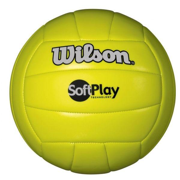 Wilson SOFT PLAY VOLLEYBALL sárga  - Röplabda