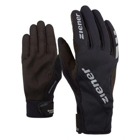 Běžecké rukavice - Ziener UMANI GWS PR BLACK