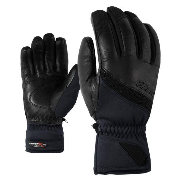 Ziener KALIFORNIA GWS PR LADY BLACK - Dámske lyžiarske rukavice