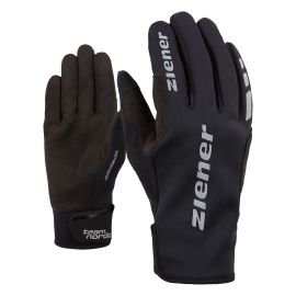 Ziener URS GWS BLACK - Running gloves