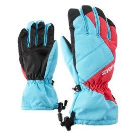Ziener AGIL AS JUNIOR PURPLE - Dětské lyžařské rukavice
