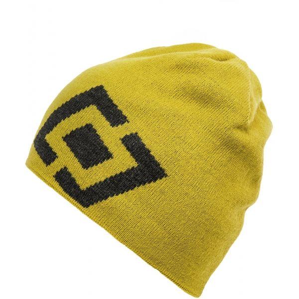 Horsefeathers WINDSOR BEANIE žltá UNI - Štýlová zimná čiapka