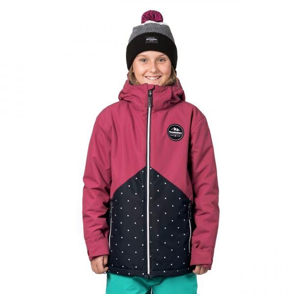 Horsefeathers JUDY KIDS JACKET ružová XXL - Dievčenské snowboardová/lyžiarska bunda