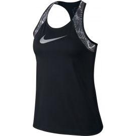 Nike W NP TANK PRT CHAIN FEATHER - Dámske tielko