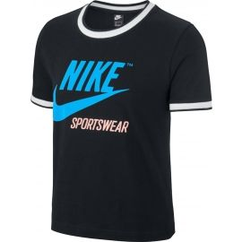 Nike W NSW TOP SS RINGER IDJ - Damen T-Shirt