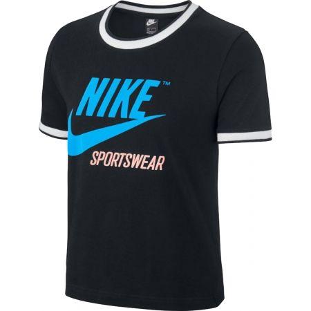 Dámské tričko - Nike W NSW TOP SS RINGER IDJ - 1