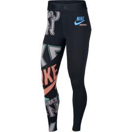 Nike W NSW LGGNG HW AOP IDJ - Legginsy damskie