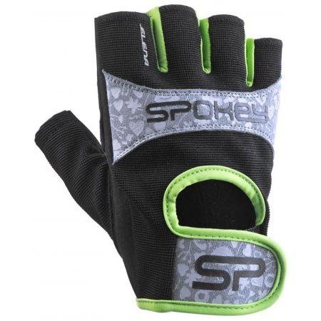 Dámske fitnes rukavice - Spokey ELENA II - 1