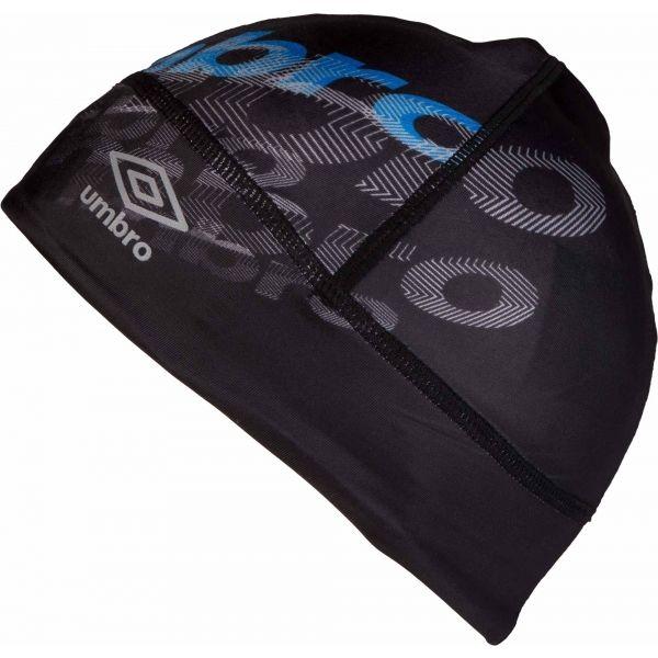 Umbro WILL černá 12-15 - Sportovní chlapecká čepice