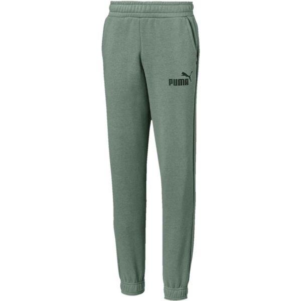 Puma ESS NO.1 SWEAT PANTS B zielony 152 - Spodnie dresowe dziecięce