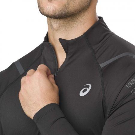 Pánské sportovní triko - Asics ICON LS 1/2 ZIP - 3
