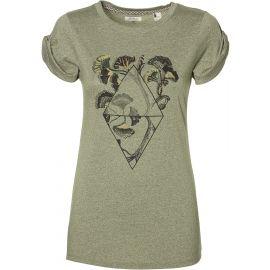 O'Neill LW CASTLE PEAK PRINT T-SHIRT - Дамска тениска