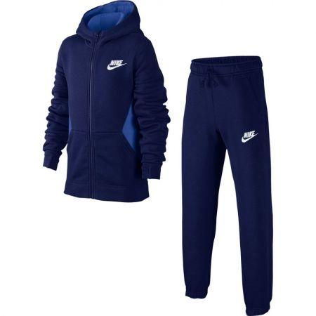 Trening băieți - Nike NSW TRK SUIT BF CORE - 1