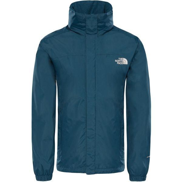 The North Face RESOLVE JACKET M tmavě modrá M - Pánská nepromokavá bunda